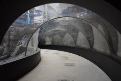 tunnel -vue de la boucle de visite -aout 2017-
