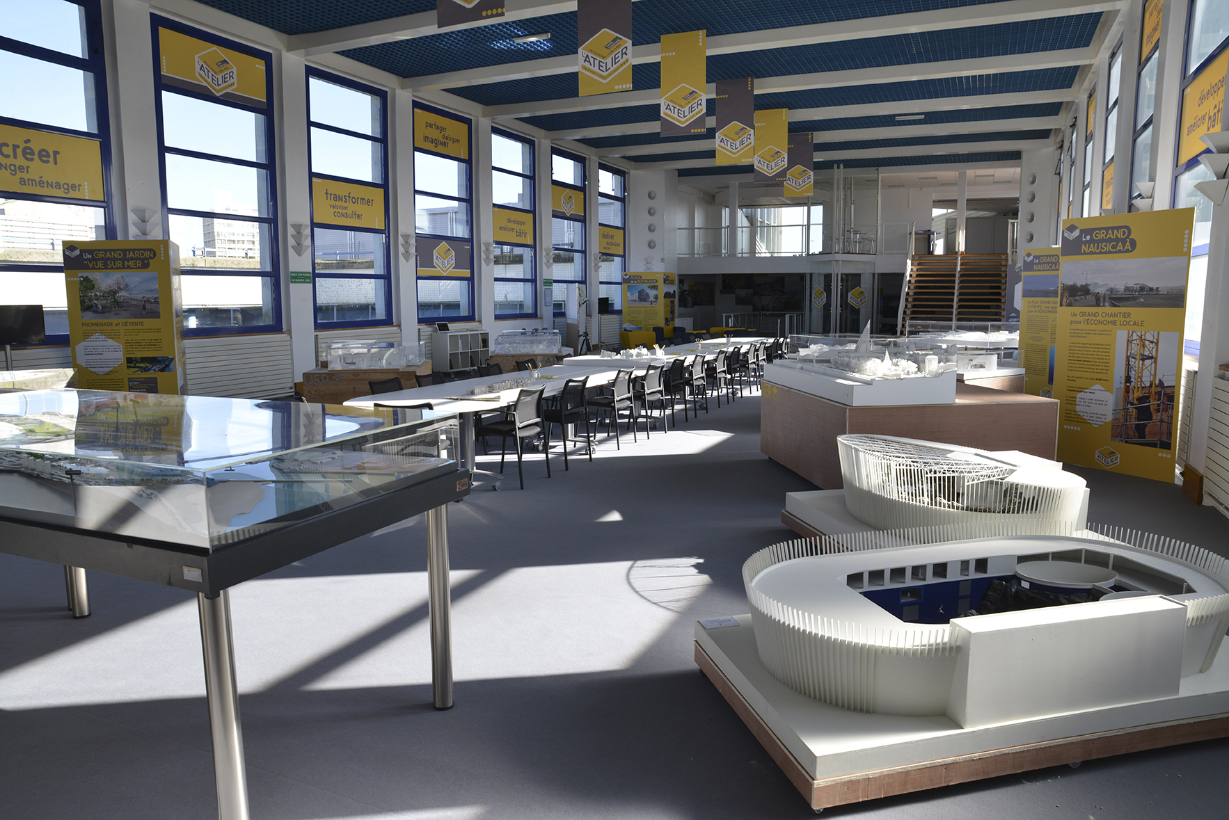 l'Atelier- espace d exposition futur Grand Nausicaa