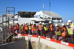 octobre 2016 -visite de chantier-