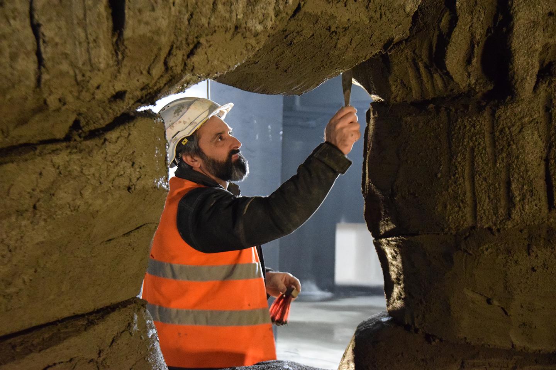 construction décor grotte-avril 2017-