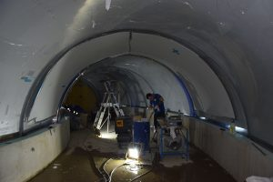 Tunnel - Chantier Grand Nausicaa