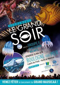 Soirée d'inauguration : Le Grand Soir à Nausicaá